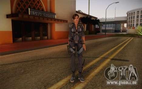 Jill Valentine from Resident Evil: Revelations pour GTA San Andreas