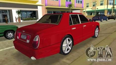 Bentley Arnage T 2005 für GTA Vice City linke Ansicht