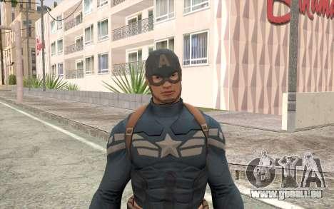 Captain America pour GTA San Andreas troisième écran