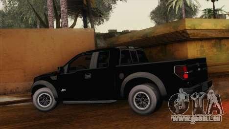 Ford F-150 SVT Raptor 2011 für GTA San Andreas linke Ansicht