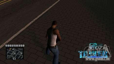 C-HUD Tawer pour GTA San Andreas deuxième écran