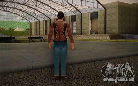Woman Autoracer from FlatOut v4 für GTA San Andreas zweiten Screenshot