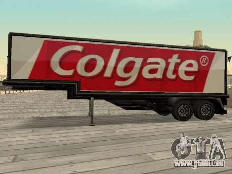 La nouvelle publicité sur les voitures pour GTA San Andreas deuxième écran