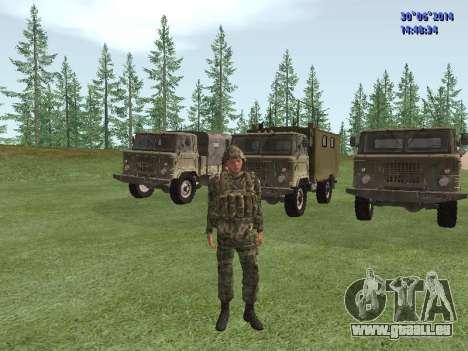 Die Kämpfer der Russischen Armee für GTA San Andreas zweiten Screenshot