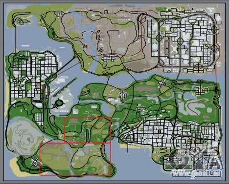 Der Dichte Wald v2 für GTA San Andreas siebten Screenshot