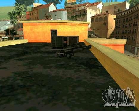 Jackhammer de Max Payne pour GTA San Andreas troisième écran