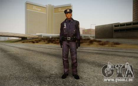 Policeman from Alone in the Dark 5 pour GTA San Andreas