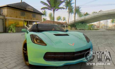 Chevrolet Corvette Stingray C7 2014 für GTA San Andreas
