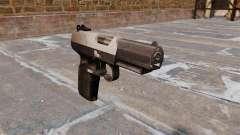 Pistolet FN Cinq à sept Chrome