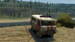 UAZ 39629 Krankenwagen
