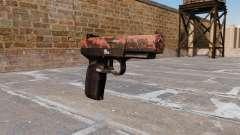 Pistole FN Fünf von sieben Roten tiger