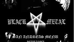 Black-Metal-Menü (Vollbild -)