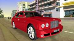 Bentley Arnage T 2005 pour GTA Vice City