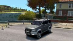 UAZ 3163 dns_event_unknown_service_port Patriote