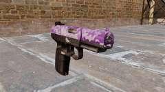 Pistolet FN Cinq à sept Violet Camo