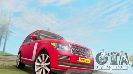 Range Rover Vogue 2014 V1.0 UK Plate pour GTA San Andreas