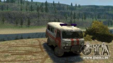 UAZ 39629 Ambulance pour GTA 4