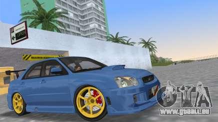 Subaru Impreza WRX STI 2005 pour GTA Vice City