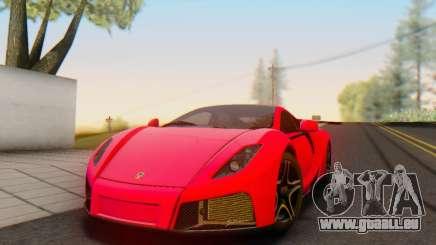 GTA Spano 2014 HQLM für GTA San Andreas