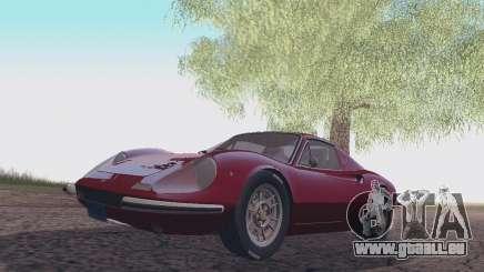 Ferrari Dino 246 GTS Coupe für GTA San Andreas