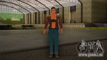 Woman Autoracer from FlatOut v4 pour GTA San Andreas