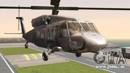 UH-60 Blackhawk pour GTA San Andreas