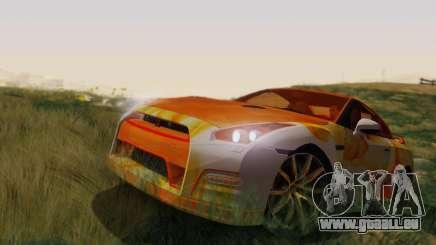 Nissan GTR Heavy Fire pour GTA San Andreas