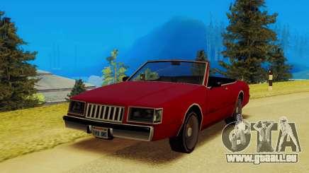 Majestic Cabrio für GTA San Andreas