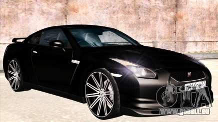 Nissan GTR-R35 Spec-V pour GTA San Andreas