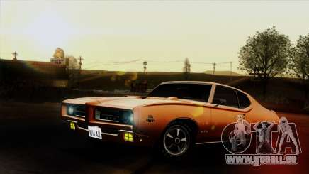 Pontiac GTO The Judge Hardtop Coupe 1969 pour GTA San Andreas