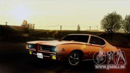 Pontiac GTO The Judge Hardtop Coupe 1969 für GTA San Andreas