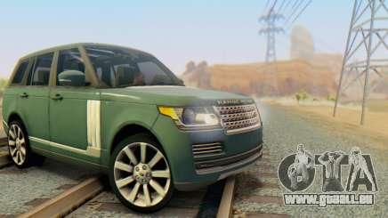 Range Rover Vogue 2014 V1.0 Interior Nero für GTA San Andreas