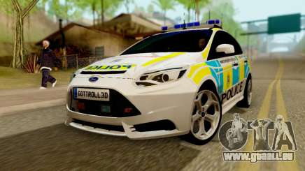 Ford Focus ST 2013 British Hampshire Police für GTA San Andreas
