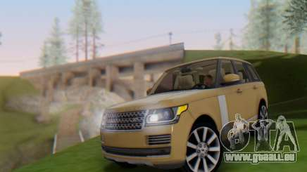 Range Rover Vogue 2014 V1.0 SA Plate für GTA San Andreas