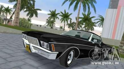 Buick Riviera 1972 Boattail pour GTA Vice City