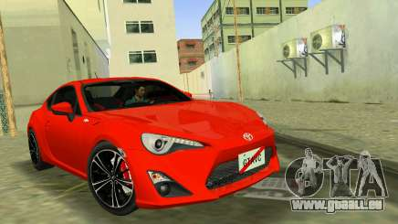 Toyota GT86 für GTA Vice City