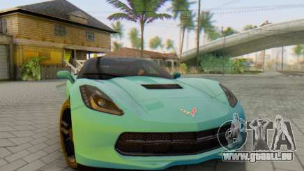 Chevrolet Corvette Stingray C7 2014 pour GTA San Andreas