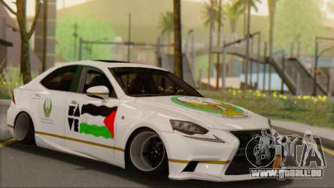 Lexus IS350 FSport 2014 Hellaflush pour GTA San Andreas