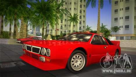 Lancia Rally 037 1982 pour GTA Vice City