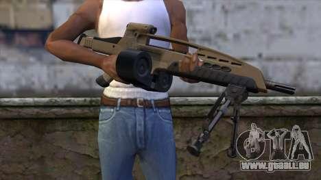 XM8 LMG Dust pour GTA San Andreas troisième écran
