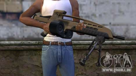 XM8 LMG Dust für GTA San Andreas dritten Screenshot