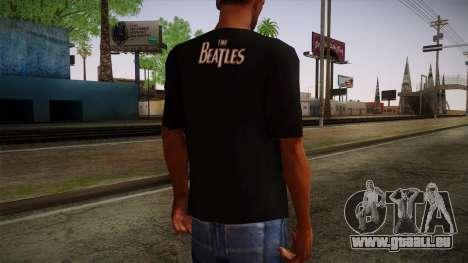 The Beatles Let It Be T-Shirt für GTA San Andreas zweiten Screenshot