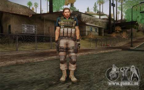 Chris Redfield from Resident Evil 6 für GTA San Andreas