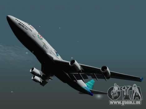 Boeing 747-400 de Garuda Indonesia pour GTA San Andreas vue de droite