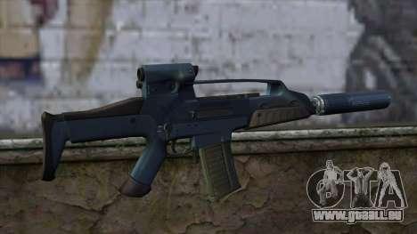 XM8 Compact Blue für GTA San Andreas zweiten Screenshot