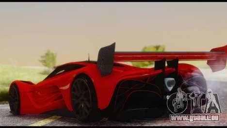 Mazda Furai 2008 pour GTA San Andreas salon