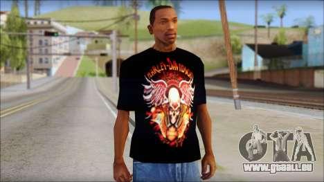 Harley Davidson Black T-Shirt für GTA San Andreas