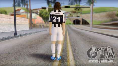 Andrea Pirlo pour GTA San Andreas deuxième écran