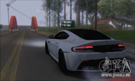Aston Martin V12 Vantage S 2013 pour GTA San Andreas laissé vue