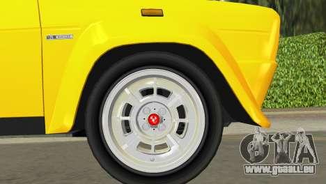 Fiat 131 Abarth Rally 1976 für GTA Vice City Rückansicht